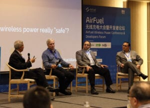 Panel discussion at the 2nd Annual AirFuel Alliance Developers Forum