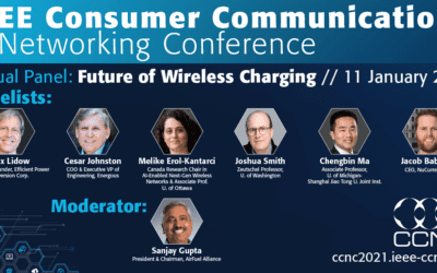 "AirFuel Alliance Announces ""The Future of Wireless Charging"" Panel at CCNC in Conjunction with CES 2021"