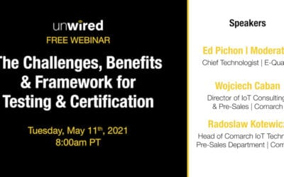 May 11 - Wireless Charging Testing Systems: The Challenges, Benefits & Framework for Testing & Certification